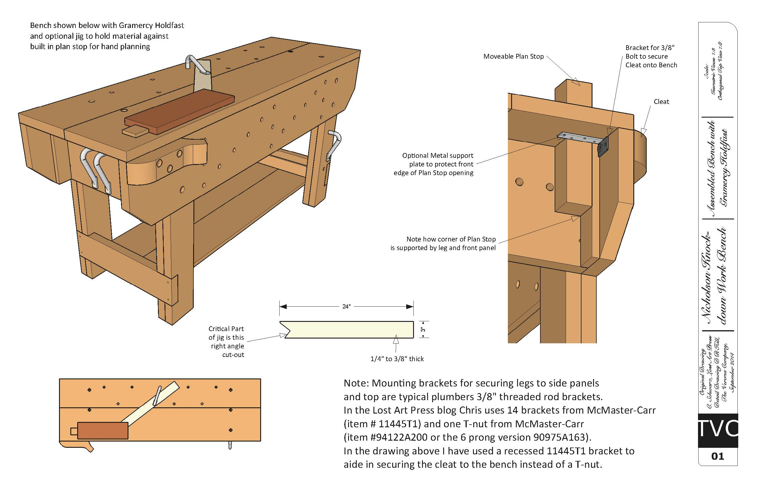 Download Free Plans For The Knockdown Nicholson Workbench Lost Art Press