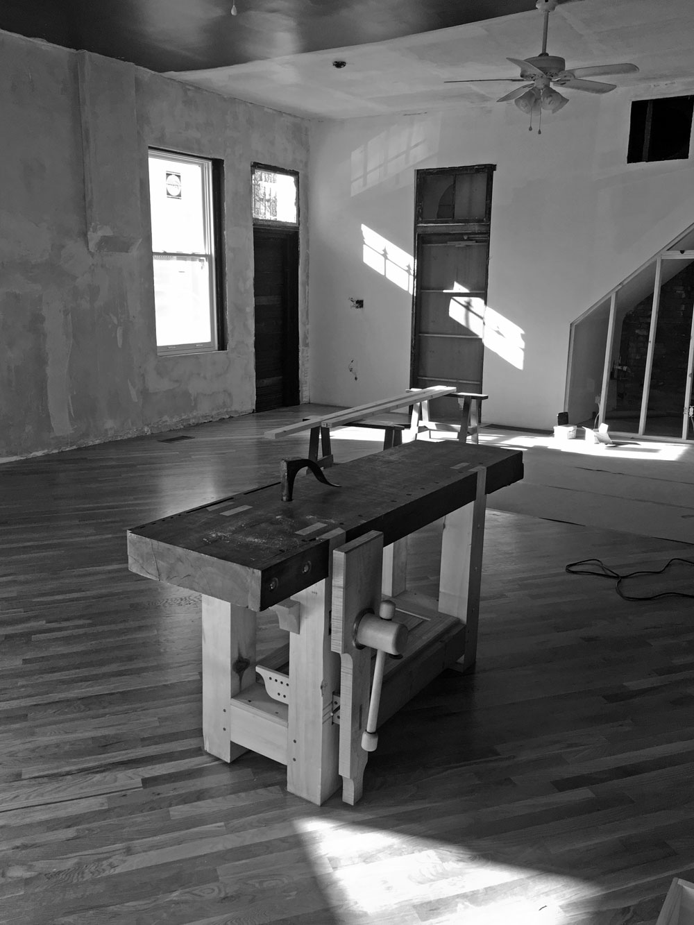 'The Anarchist's Workbench.' Why?
